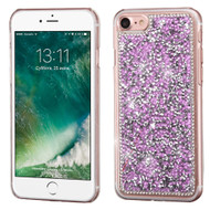 Desire Bling Bling Crystal Cover for iPhone 8 / 7 - Rhinestones Purple