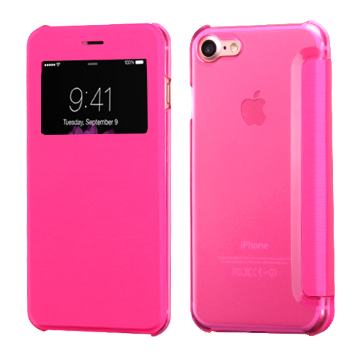 iphone 8 flip case pink