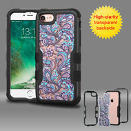 TUFF Vivid Graphic Hybrid Armor Case for iPhone 8 / 7 - Persian Paisley