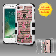 TUFF Vivid Graphic Hybrid Armor Case for iPhone 8 / 7 - Fresh Roses