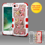 TUFF Vivid Graphic Hybrid Armor Case for iPhone 8 / 7 - Painted Flowers
