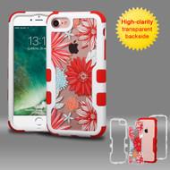 TUFF Vivid Graphic Hybrid Armor Case for iPhone 8 / 7 - Spring Daisies