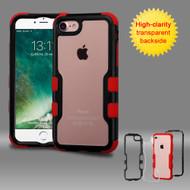 TUFF Vivid Hybrid Armor Case for iPhone 8 / 7 - Black Red