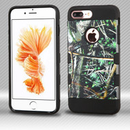 Military Grade Certified TUFF Trooper Dual Layer Hybrid Armor Case for iPhone 8 Plus / 7 Plus - Cedar Tree Camouflage