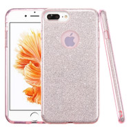 *SALE* Full Glitter Hybrid Protective Case for iPhone 8 Plus / 7 Plus - Pink
