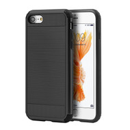 Silkee Hybrid Armor Case for iPhone 7 - Black