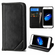 Mybat Genuine Leather Wallet Case for iPhone 8 / 7 - Black