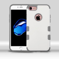 Military Grade Certified TUFF Merge Hybrid Armor Case for iPhone 8 / 7 - White Grey