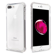 Ultra Hybrid Shock Absorbent Crystal Case for iPhone 8 Plus / 7 Plus - Clear