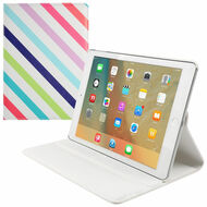 *FINAL SALE* 360 Degree Smart Rotary Leather Case for iPad Pro 9.7 inch - Stripes
