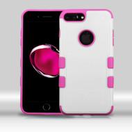 Military Grade TUFF Merge Hybrid Armor Case for iPhone 8 Plus / 7 Plus - White Hot Pink