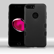 Military Grade Certified TUFF Merge Hybrid Armor Case for iPhone 8 Plus / 7 Plus - Black