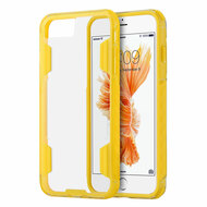 Air Duty Transparent Hybrid Case for iPhone 7 - Yellow