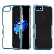 TUFF Panoview Transparent Hybrid Case for iPhone 8 / 7 - Coral Blue