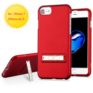 Sidekik Hard Shell Polycarbonate Case with Kickstand for iPhone 8 / 7 / 6S / 6 - Red