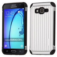 Suitcase Design Hybrid Protector Cover for Samsung Galaxy On5 - Silver