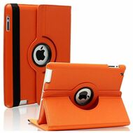 *SALE* Smart Rotary Leather Case for iPad 2, iPad 3 and iPad 4th Generation - Orange
