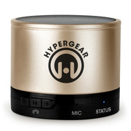 HyperGear MiniBoom Bluetooth Wireless Speaker - Gold