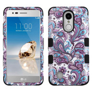 *SALE* Military Grade TUFF Image Hybrid Armor Case for LG Aristo / Fortune / K8 2017 / Phoenix 3 - Persian Paisley