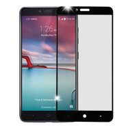 Premium Full Coverage 2.5D Tempered Glass Screen Protector for ZTE Zmax Pro - Black