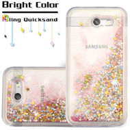 *SALE* Quicksand Glitter Case for Samsung Galaxy J3 (2017) / J3 Emerge / J3 Prime / Amp Prime 2 / Sol 2 - Pink
