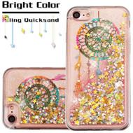 Quicksand Glitter Transparent Case for iPhone 8 / 7 - Dreamcatcher