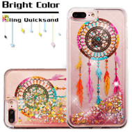 Quicksand Glitter Transparent Case for iPhone 8 Plus / 7 Plus - Dreamcatcher