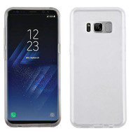 Rubberized Crystal Case for Samsung Galaxy S8 - Clear