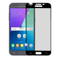 Tempered Glass Screen Protector for Samsung Galaxy J3 (2017) / J3 Emerge / J3 Prime / Amp Prime 2 / Sol 2 - Black