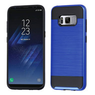 Brushed Hybrid Armor Case for Samsung Galaxy S8 - Blue
