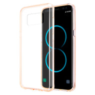 Polymer Transparent Hybrid Case for Samsung Galaxy S8 - Champagne Gold