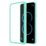 *Sale* Polymer Transparent Hybrid Case for Samsung Galaxy S8 Plus - Baby Blue