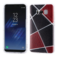 Shockproof Crystal TPU Case for Samsung Galaxy S8 Plus - Geometric