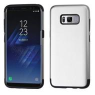Slim Armor Multi-Layer Hybrid Case for Samsung Galaxy S8 - Silver