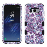 Military Grade Certified TUFF Image Hybrid Armor Case for Samsung Galaxy S8 Plus - Persian Paisley