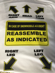 In Case of Snowmobile Accident T-shirt