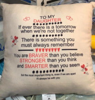 We can add any design/saying you want to these cushions