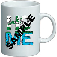 This is a sample photo of the mug, This will be replaced with an actual photo of the printed mug shortly