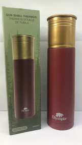 Red 500ml Bullet shaped Thermos bottle