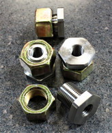 10mm  radius rod nuts (set of 4)
