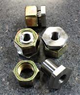 10mm  radius rod nuts (set of 4)