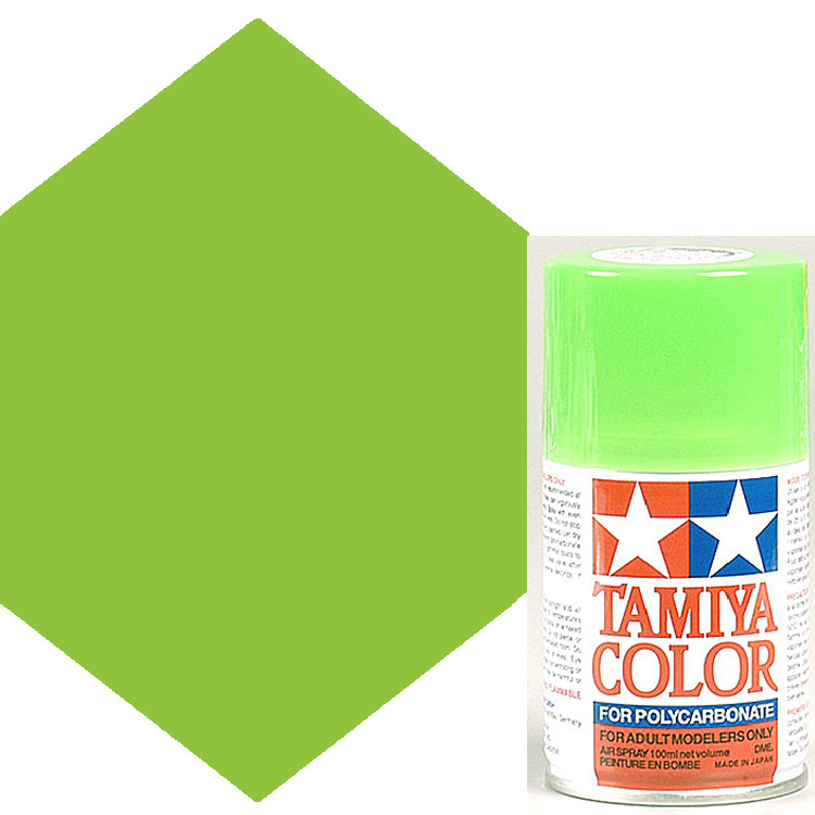 5626a73521a88 Tamiya Polycarbonate PS-28 Fluorescent Green Spray Paint 86028