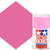 Tamiya Polycarbonate PS-29 Fluorescent Pink 3 oz Spray Paint 86029