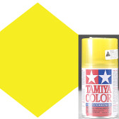 Tamiya Polycarbonate PS-42 Translucent Yellow Spray Paint 86042