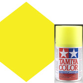 Tamiya Polycarbonate PS-27 Fluorescent Yellow Spray Paint 86027