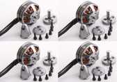 Tiger Motor Navigator MN2204-23 2300KV Brushless Multi Rotor Motor Set of 4