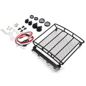Yeah Racing 1/10 Rock Crawler Metal Wire Luggage Tray Type A w/4 White Lights