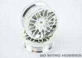 RPM 80806 1/10 Chicane Aluminum Finish Sedan On Road Wheels Traxxas / Kyosho
