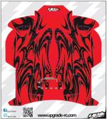 Upgrade RC UPG7305 Red Kabuki Skin / Decal / Sticker for Spektrum DX5e