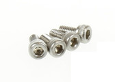 Tekin 2.5mmx5mm Mini Motor Screws 4pcs TT3800